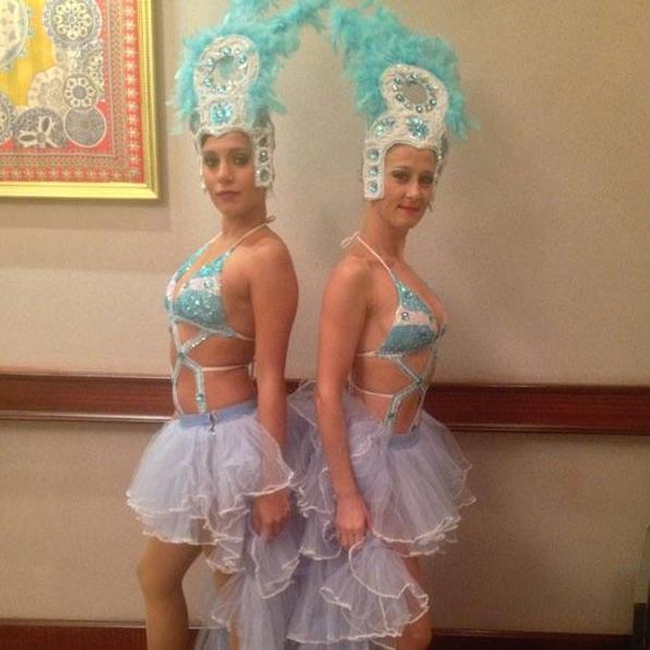 Brezilya Dans Gösterisi