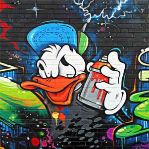 Grafiti Çalışması
